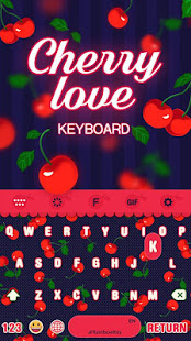 Fruit Color Keyboard Theme