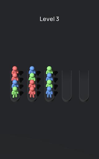 Crowd Sort - Color Sort & Fill  screenshots 10