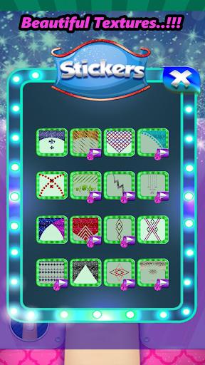Télécharger mode clou art conception Et coloration Jeu mod apk screenshots 3