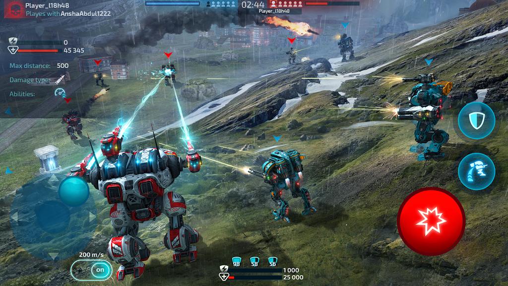 Robot Warfare: Mech Battle 3D PvP FPS  poster 10