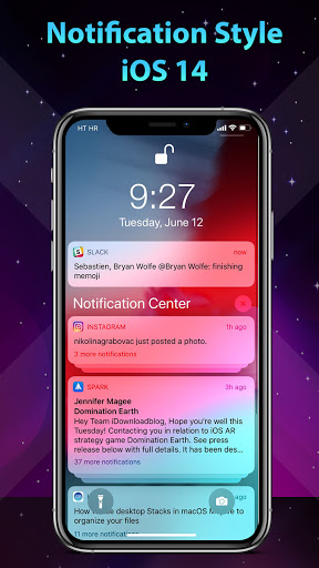 Image of Phone 12 Launcher, OS 14 iLauncher, Control Center 7.2.5 2