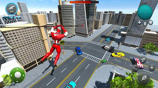 Miami Robot Spider Hero: City Gangster Games 2021 screenshots 1