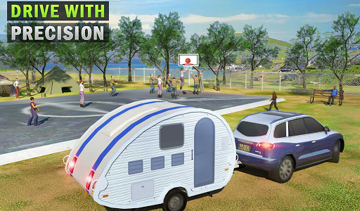 Camper Van Truck Simulator: Cruiser Car Trailer 3D screenshots 12