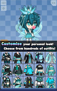 Pocket Chibi - Anime Dress Up