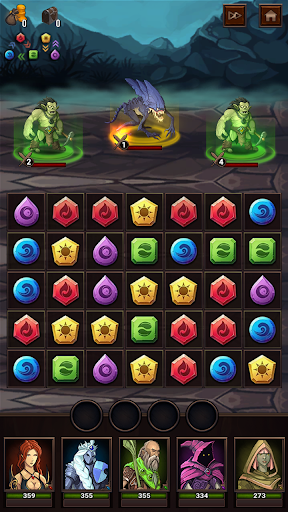 Monsters & Puzzles: RPG Match 3 1.1.0 screenshots 6