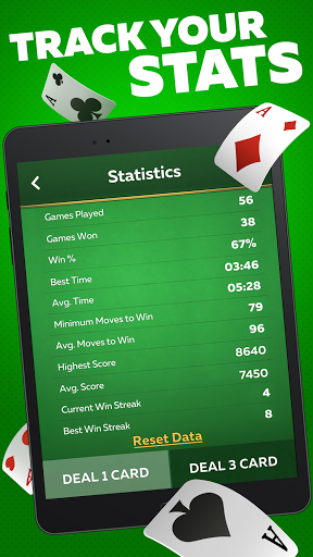 Solitaire Play u2013 Classic Klondike Patience Game 2.1.4 screenshots 11
