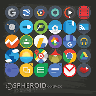 Spheroid Icon Screenshot