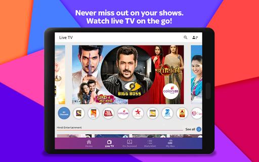 Tata Sky Mobile- Live TV, Movies, Sports, Recharge screenshots 22