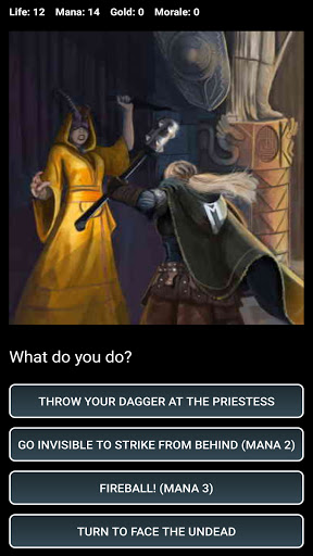 D&D Style Medieval Fantasy RPG (Choices Game) screenshots 5