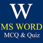 MS WORD MCQ & QUIZ