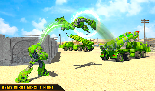 US Army Robot Missile Attack: Truck Robot Games 23 Screenshots 19