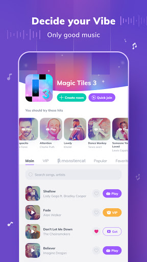 Game of Songs - Music Social Platform screenshots 9