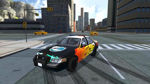Police Car Drift Simulator 2.0 screenshots 16