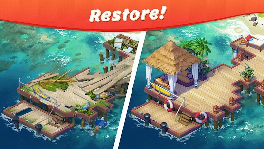 Tropical Forest: Match 3 Story 2.8.1 [MOD APK] Latest 1