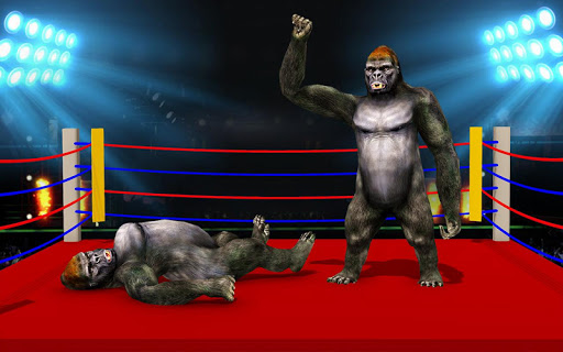 Wild Gorilla Ring Fighting:Wild Animal Fight 0.3 screenshots 5