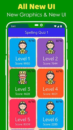 Ultimate English Spelling Quiz : New 2020 Version 2020.33 screenshots 4