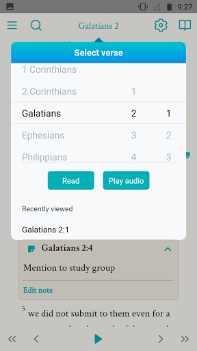 NRSV: Audio Bible for Everyone  screenshots 17