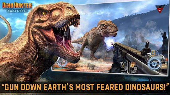 Dino Hunter MOD APK [Unlimited Money/Energy/Coins/Unlocked] 2