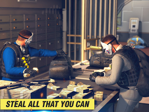 Gangster Crime Bank Robbery -Open World Games 2021 screenshots 8