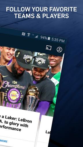 NBA: Live Games & Scores screenshots 2