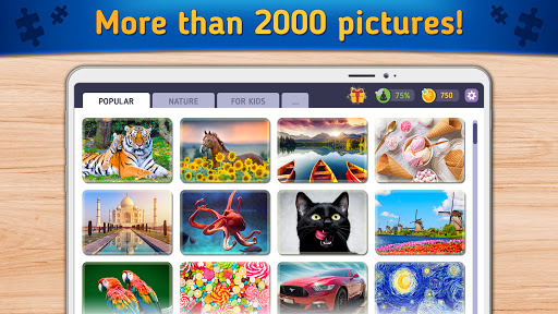 Relax Jigsaw Puzzles android2mod screenshots 2