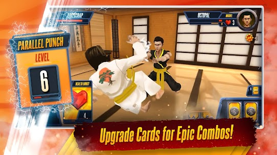 Cobra Kai: Card Fighter MOD (Unlimited Money) 4