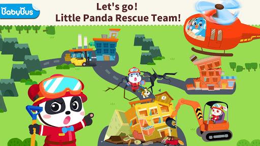 Little Panda's Earthquake Rescue  Screenshots 1