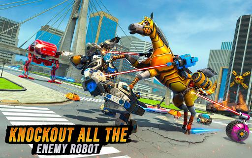 Horse Robot Transforming Game: Robot Car Game 2020 1.12 screenshots 2