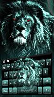 Luminous Lion Keyboard Theme