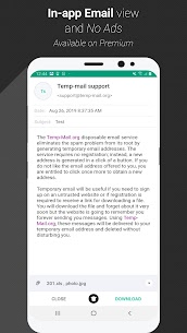 Temp Mail Pro – Free Instant Temporary Email Address 4