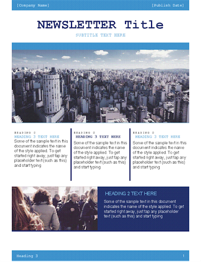 Free Email Newsletter Templates  screenshots 20