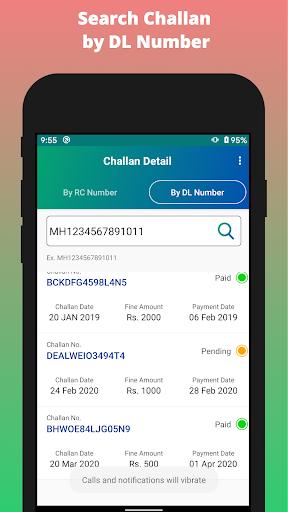 Challan Detail apktram screenshots 3