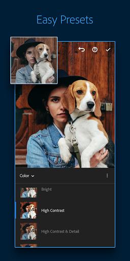 Adobe Lightroom - Photo Editor & Pro Camera screen 1