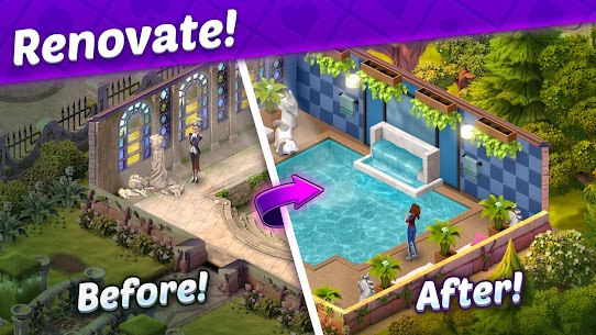 Solitaire Story – Ava' s Manor  Tripeaks Card Game Apk 4