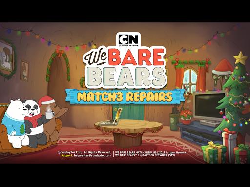 We Bare Bears: Match3 Repairs  screenshots 12