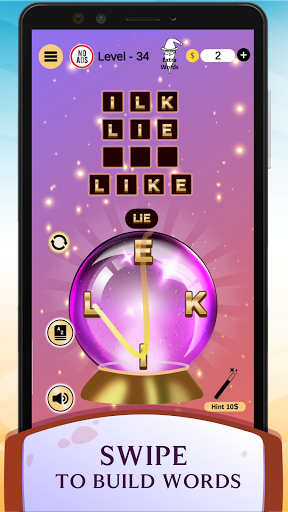 Word Wizard Puzzle - Connect Letters 4.1.7 screenshots 6