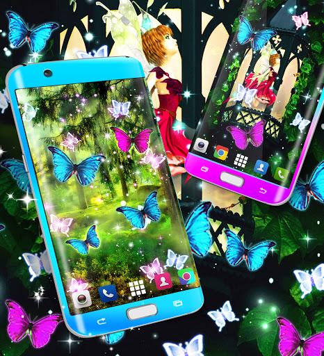 Magical forest live wallpaper apktram screenshots 4