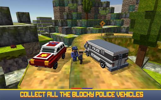 blocky san andreas police 2017 screenshot 2