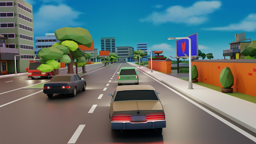 Code Triche Traffic Race: Open world. Fury rally, Car stunts! (Astuce) APK MOD screenshots 5