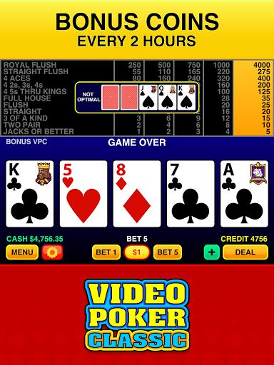 Video Poker Classic u2122 3.8 screenshots 7