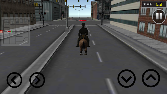 Police Horse Chase: Crime City Screenshot