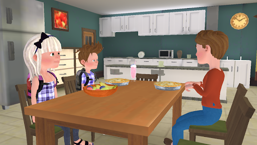 Super Dad : Virtual Happy Family Game  screenshots 6