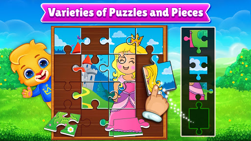 Puzzle Kids - Animals Shapes and Jigsaw Puzzles apktreat screenshots 2