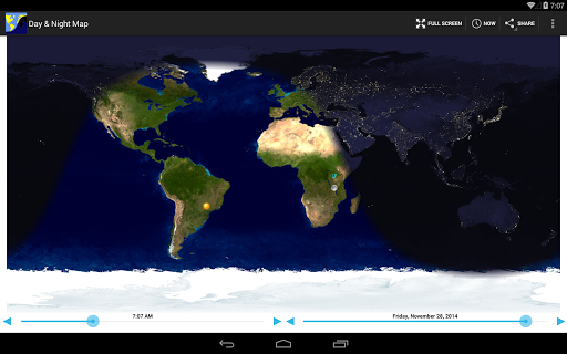 Day & Night Map 3.1 Screenshots 5