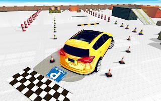 Reverse Prado 3D Car Parking Games New Free games