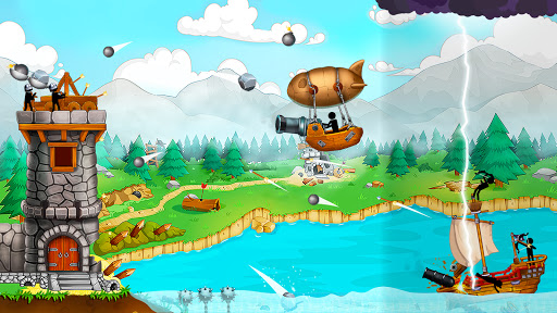 The Catapult: Castle Clash with Stickman Pirates 1.3.5 screenshots 3