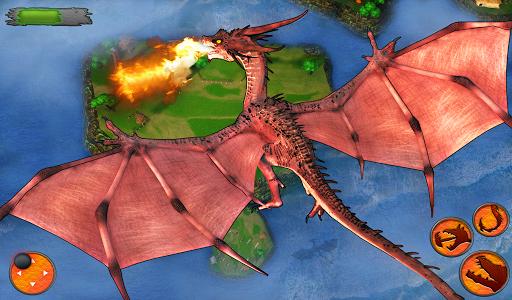 Flying Dragon Battle Simulator : City Attack  screenshots 5