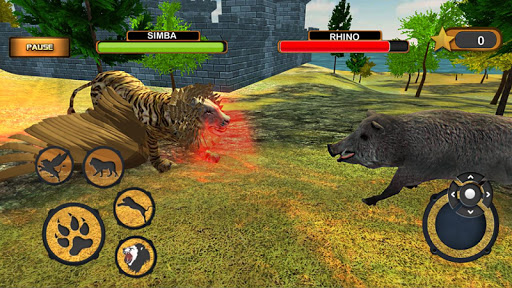 Angry Flying Lion Simulator 2021 screenshots 11