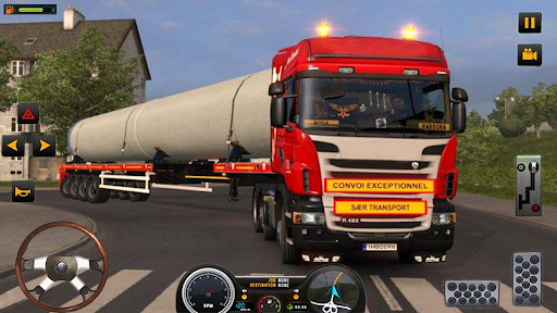 US Heavy Modern Truck: Grand Driving Cargo 2020  Screenshots 9