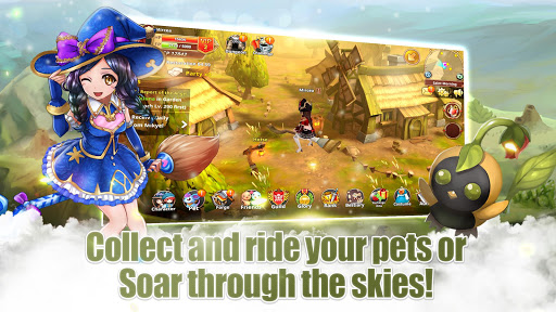 Flyff Legacy - Anime MMORPG - Free MMO Action RPG  Paidproapk.com 3